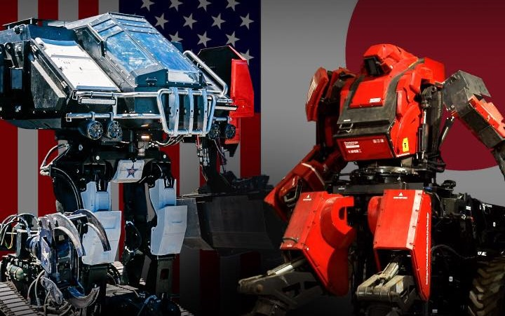 Megabots USA VS JAPAN