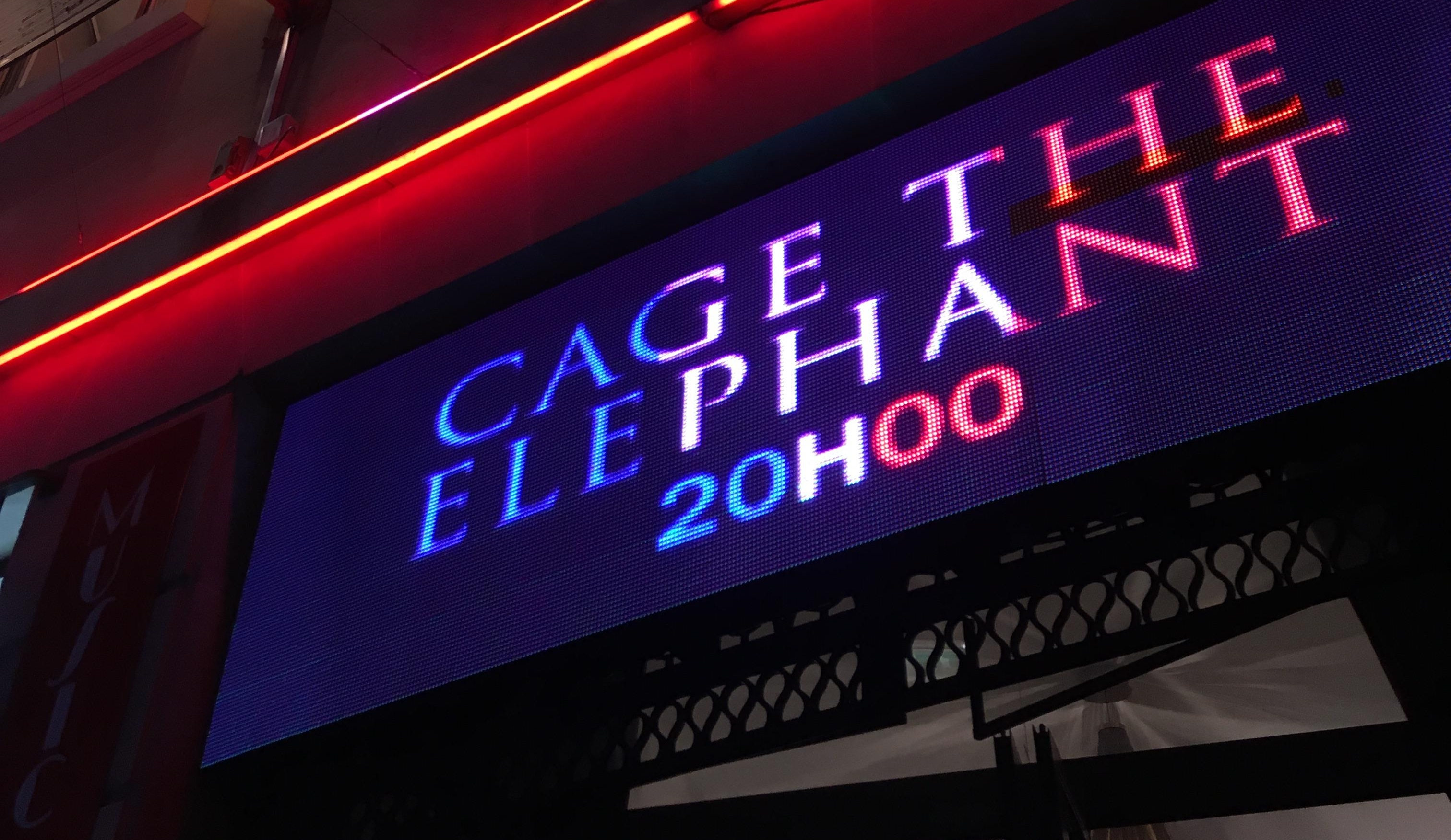 Cage The Elephant Alhambra