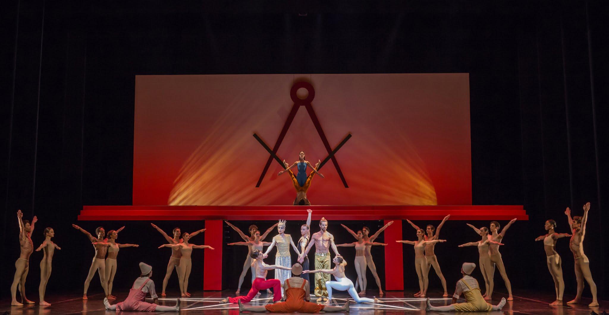 Le Béjart Ballet Lausanne danse La Flûte Enchantée