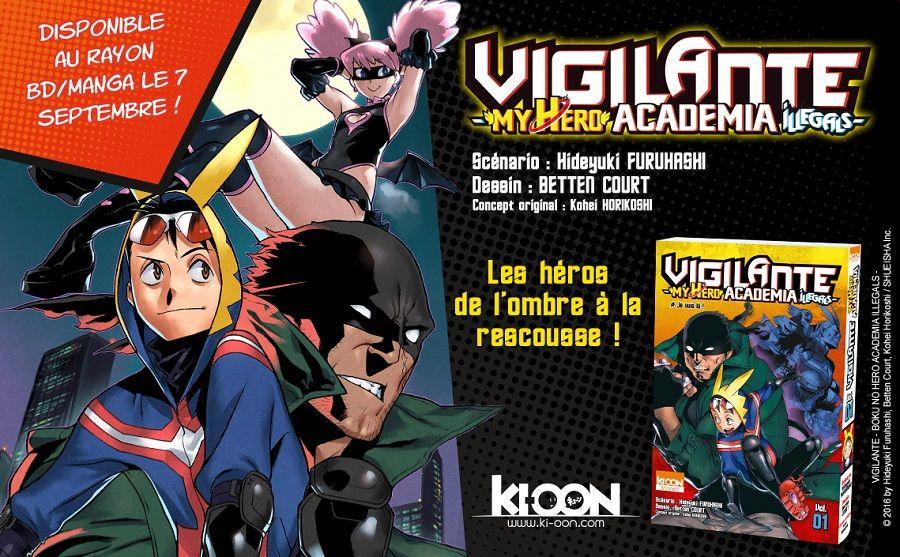 Vigilante - My Hero Academia Illegals full