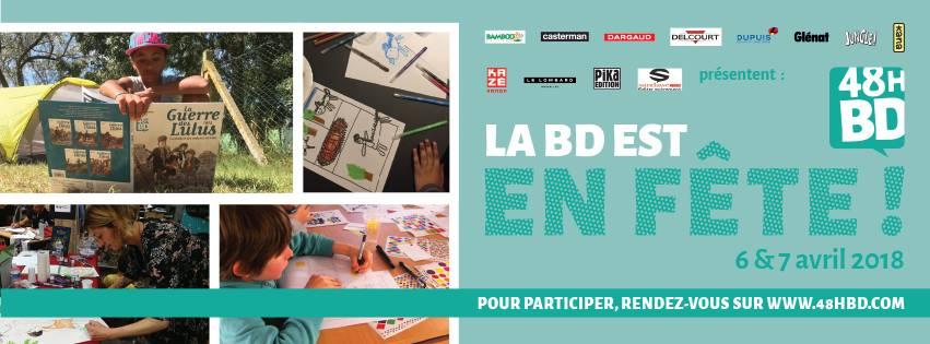 Les 48h BD: Le festival aura lieu le 6 et le 7 avril