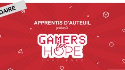 Apprentis d'Auteuil organise son Gamers For Hope Challenge le 25 février