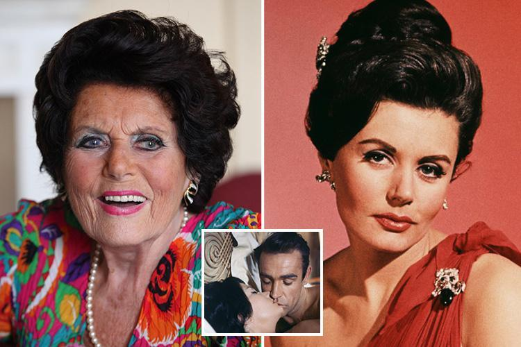 James Bond Girl Eunice Gayson Mort