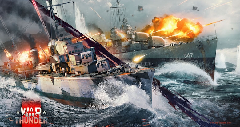 War Thunder batailles navales
