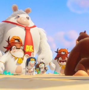 Donkey Kong disponible dans Mario + The Lapins Crétins Kingdom Battle !