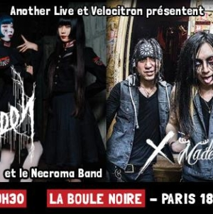 [Report] Necronomidol – X Made Alcoholic Santaclaus – 9 Juin 2018 Paris