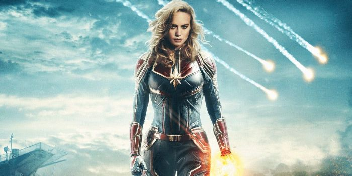 Fan-art de Brie Larson en Captain Marvel