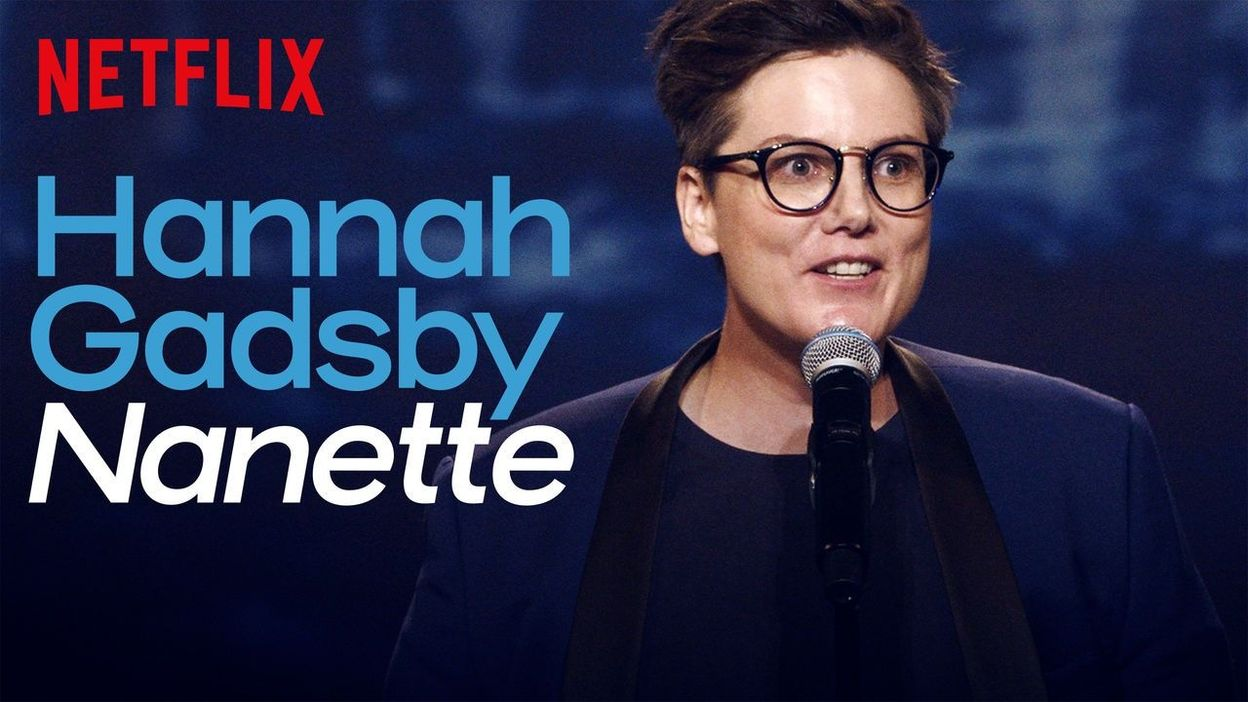 Hannah Gadsby show Nanette
