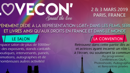 LoveCon, une convention LGBT+, est annoncée par Royal Events !