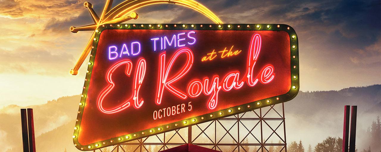 Affiche Sale temps à l'hôtel El Royale