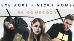 « Be Somebody » le nouveau single de Steve Aoki est sorti !