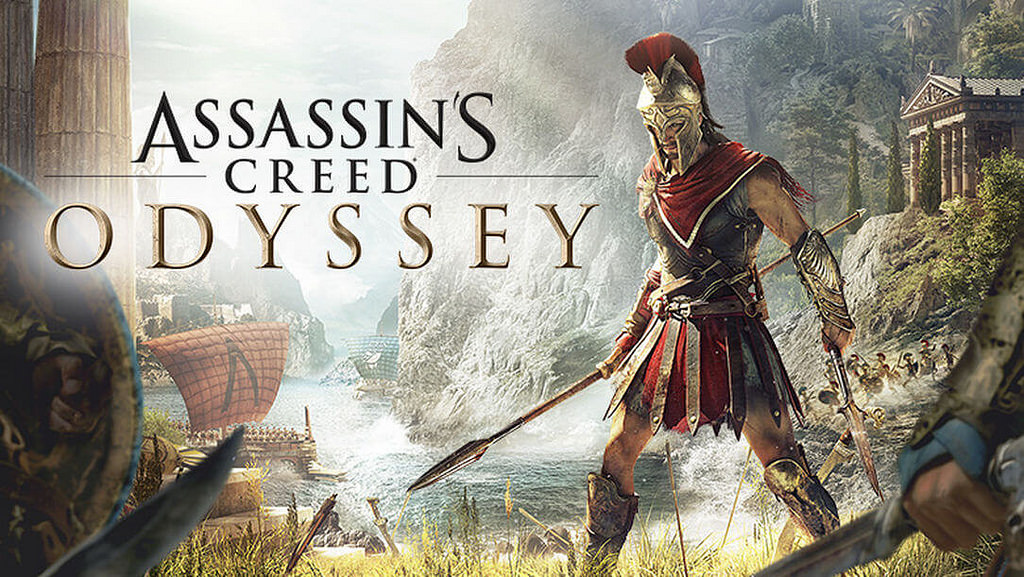 assassins creed odyssey, logo, jeu vidéo, assassins creed
