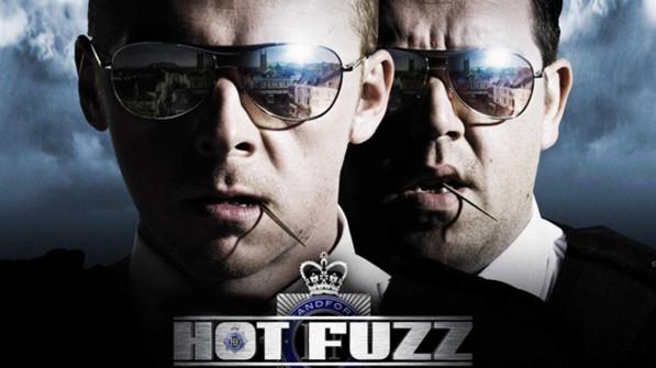 Hot Fuzz, Simon Pegg, Nick Frost, Edgar Wright, comédie, policier, action, Shaun of the dead, Cornetto's trilogy