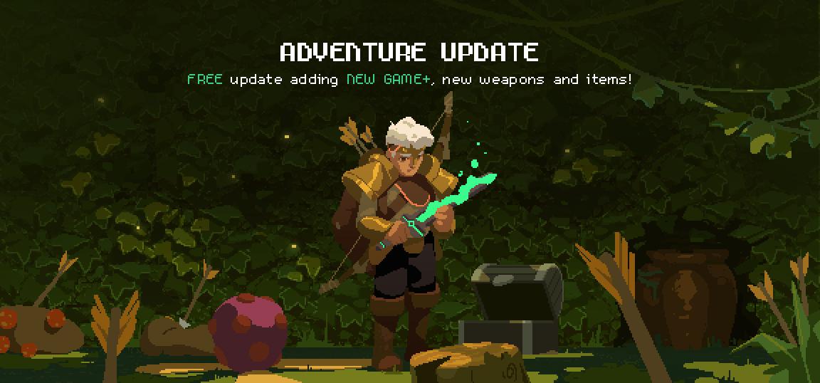 Moonlighter jeu indé màj mise à jour Adventure Update