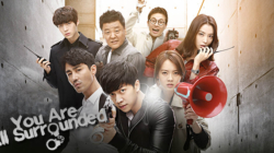 Critique « You Are All Surrounded » (Dramapassion) : une comédie policière distrayante !