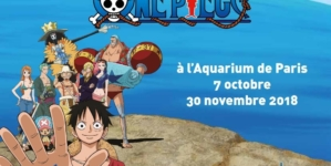 Exposition : les pirates de One Piece jettent l'encre à Cineaqua !
