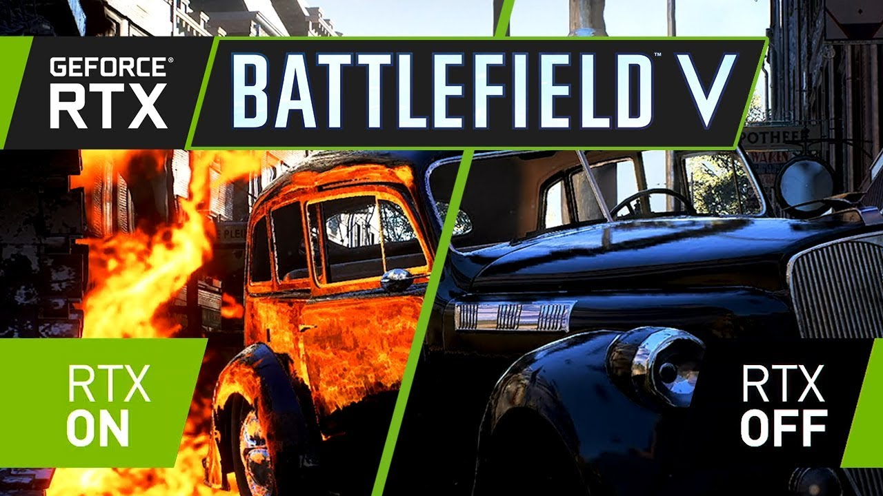 Battlefield V Nvidia GeForce RTX
