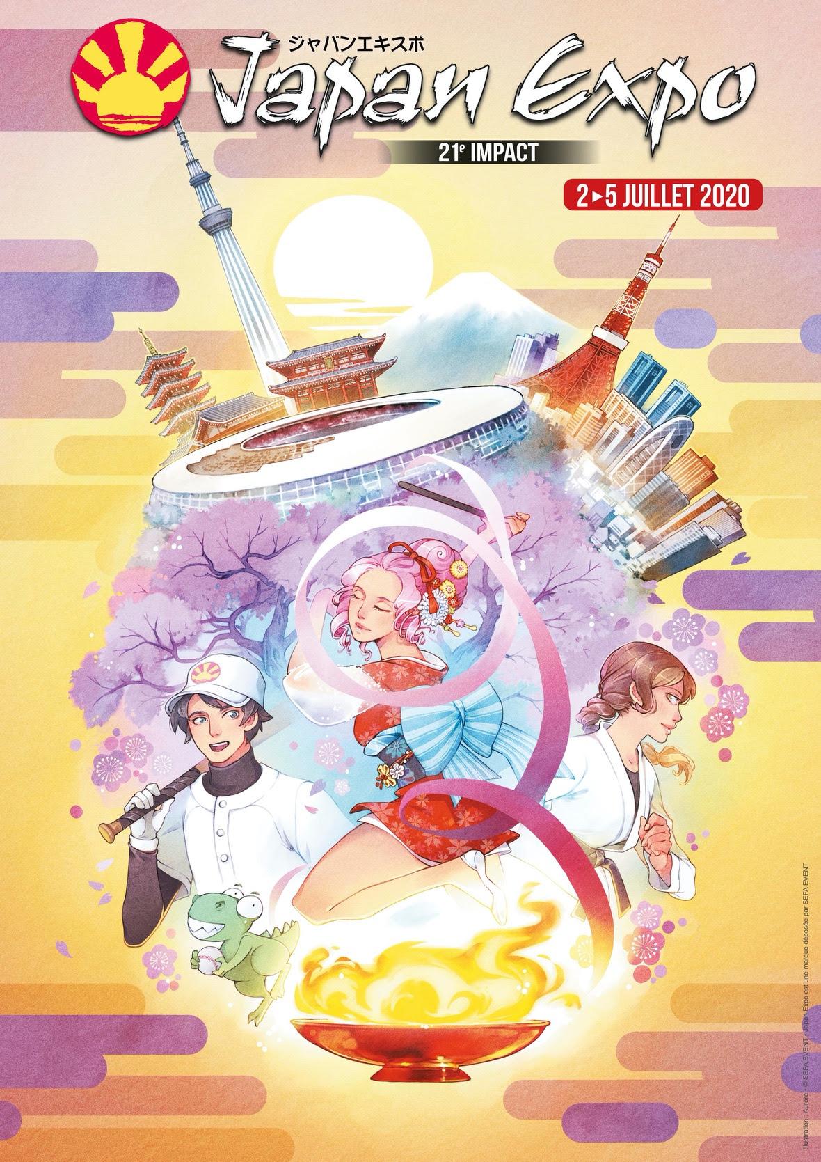 affiche japan expo 2020