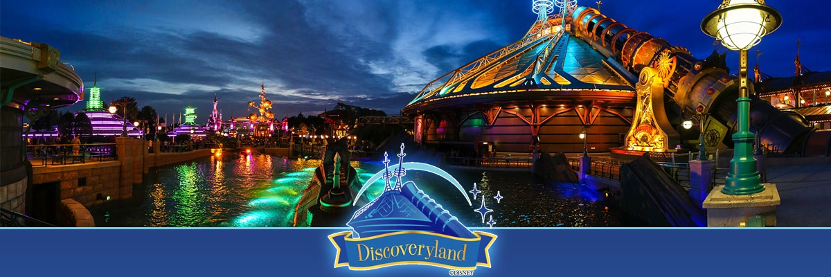 Disneyland Paris Space Moutain Discoveryland