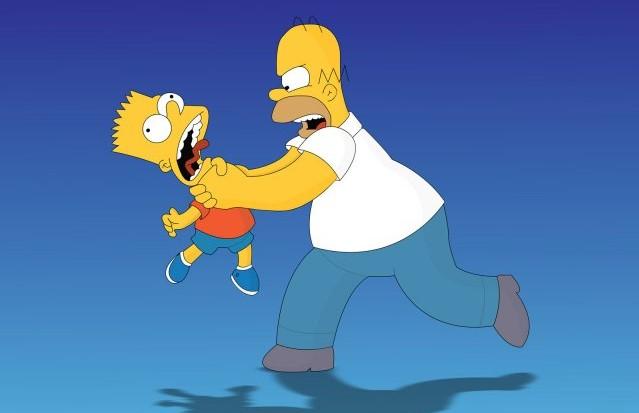 """Image provenant de """"Les Simpson"""""""