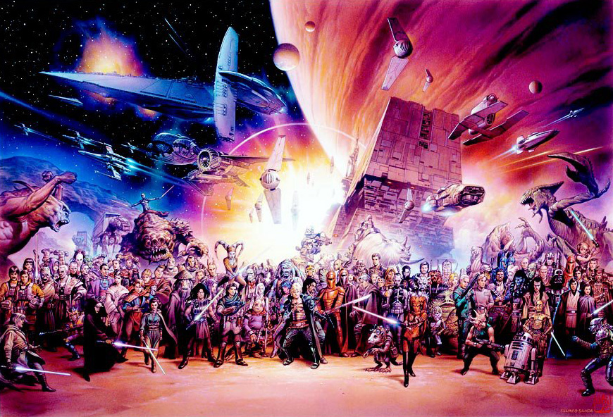 "Univers étendu Star Wars ""Légendes"""