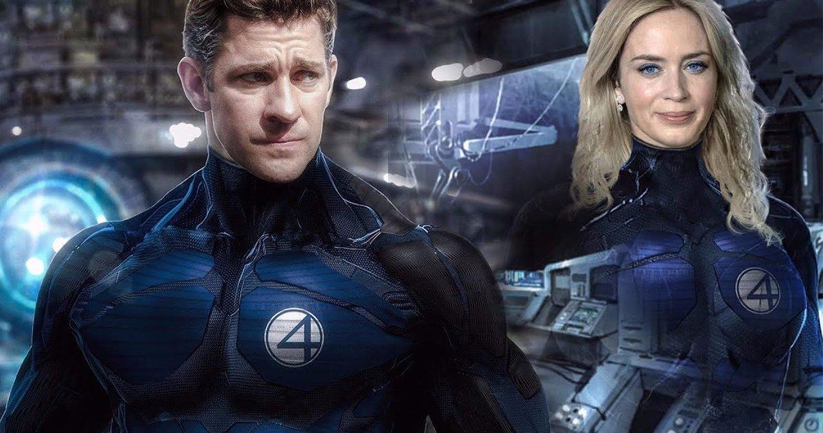 John Krasinski : Proche d'un rôle dans Les 4 Fantastiques de Marvel ?