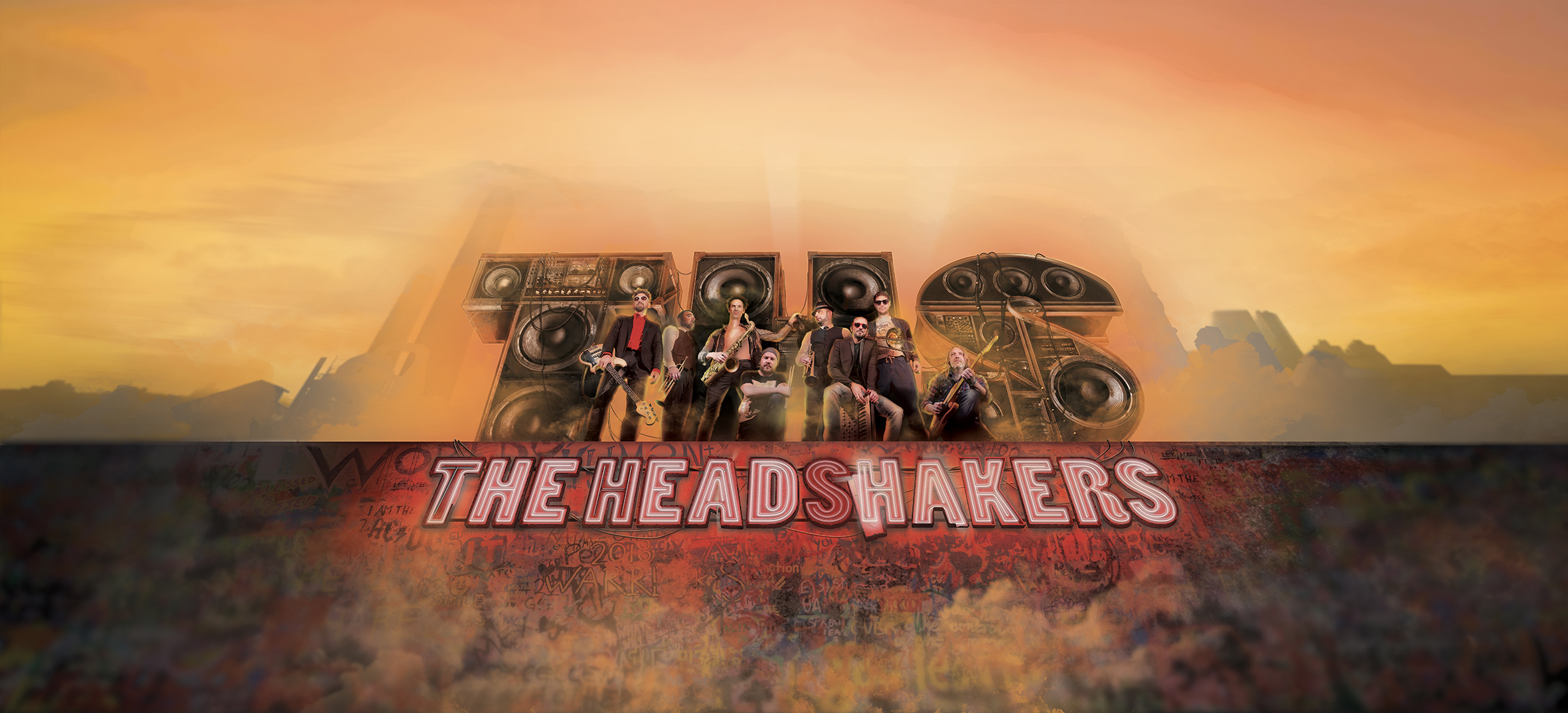 The HeadShakers Nouvel album featuring Fred Wesley, Russell Gunn et Dréo
