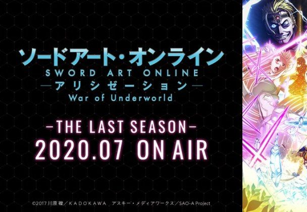 """Sword Art Online : Alicization - War of Underworld Partie 2"" reportée !"