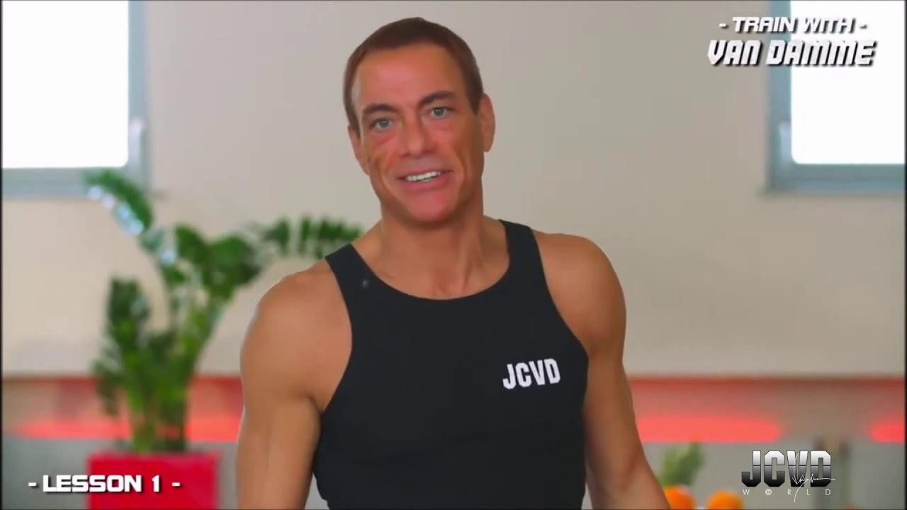 JCVD s'improvise coach sportif pendant le confinement !