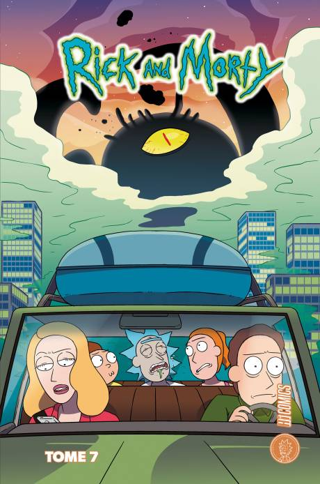 De la série à la bd, Rick and Morty tome 7