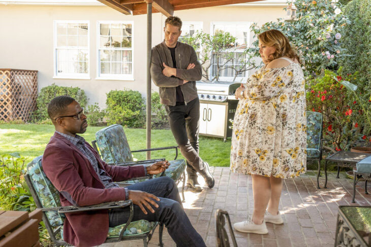 Randall (Sterling K. Brown), Kevin (Justin Hartley) & Kate (Chrissy Metz)