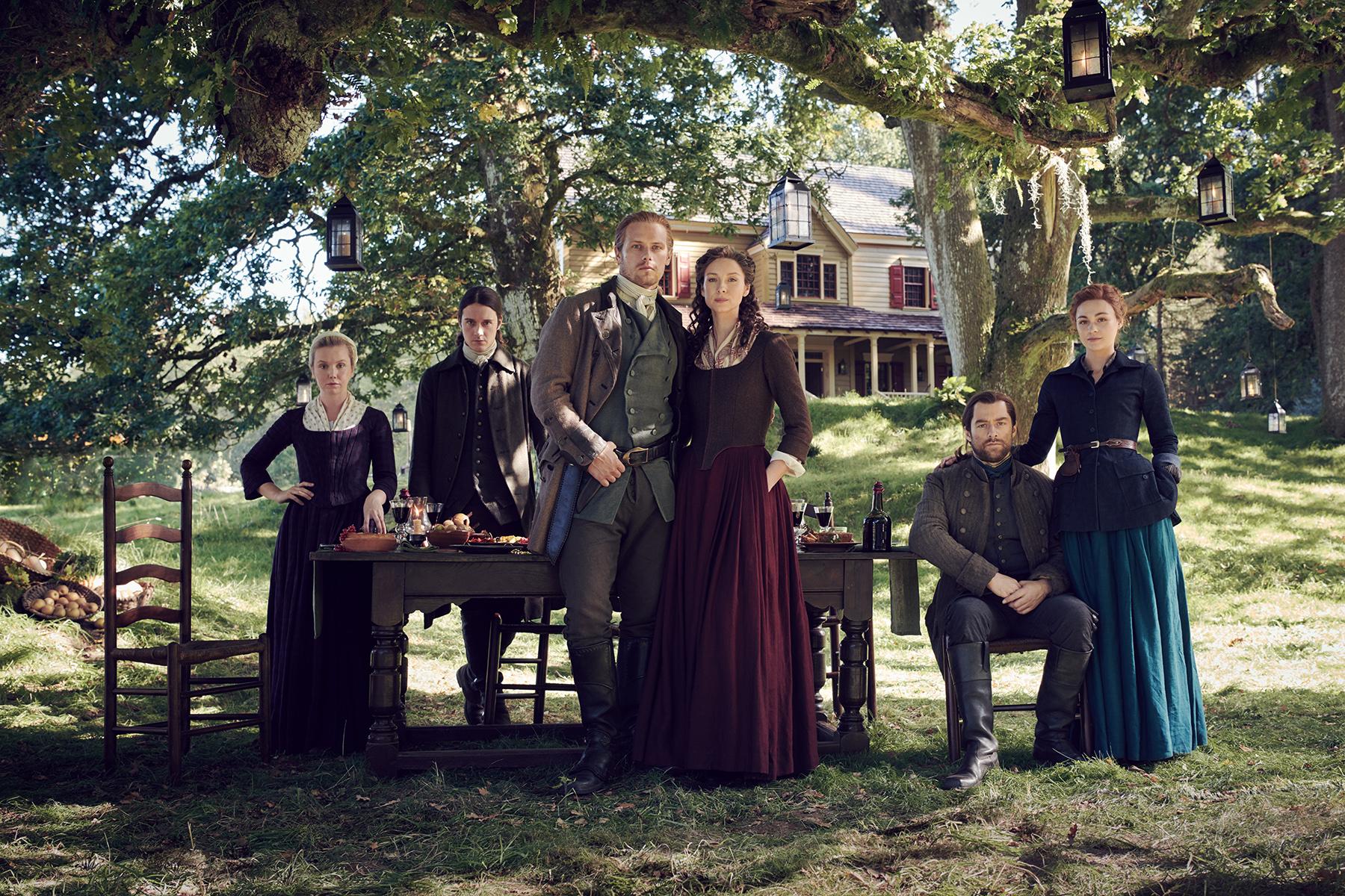 Le casting d'Outlander