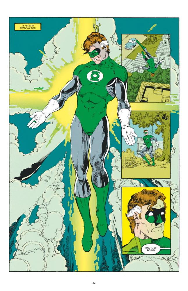 Hal Jordan en plein délire mystique