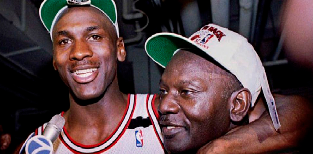 James and Michael Jordan Bulls netflix