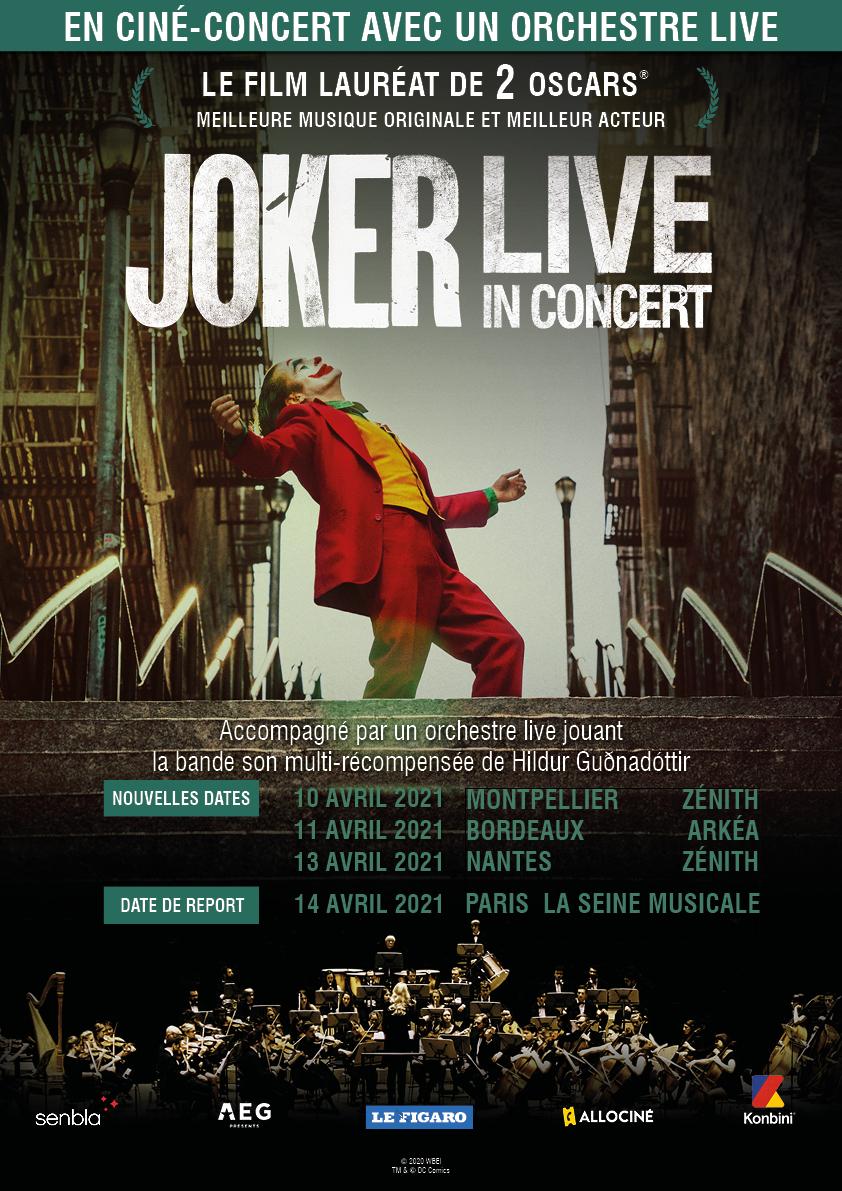Joker - Ciné concert en France en 2021