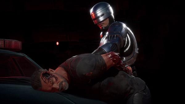 """Jeux Vidéo : RoboCop affronte le Terminator dans """"Mortal Kombat"""""""