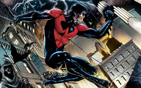 Dick Grayson au sommet de Gotham