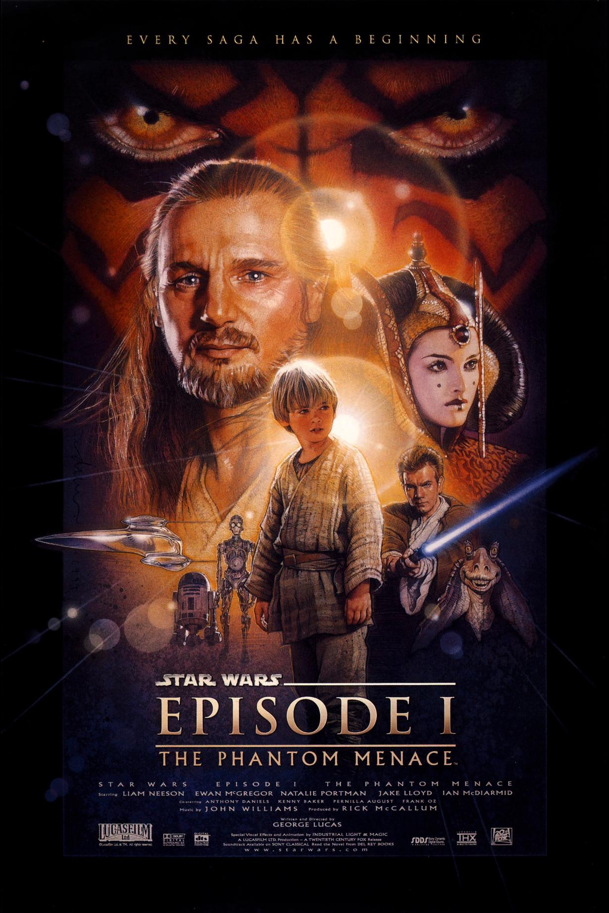 Star Wars 1 - La Menace Fantôme