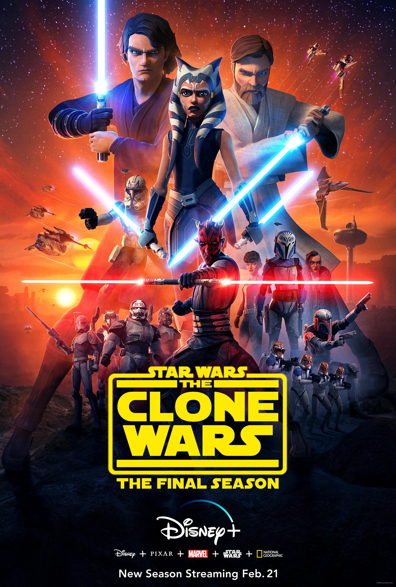 "Critique ""The Clone Wars"" Saison 7 (Disney+) : Un final grandiose !"