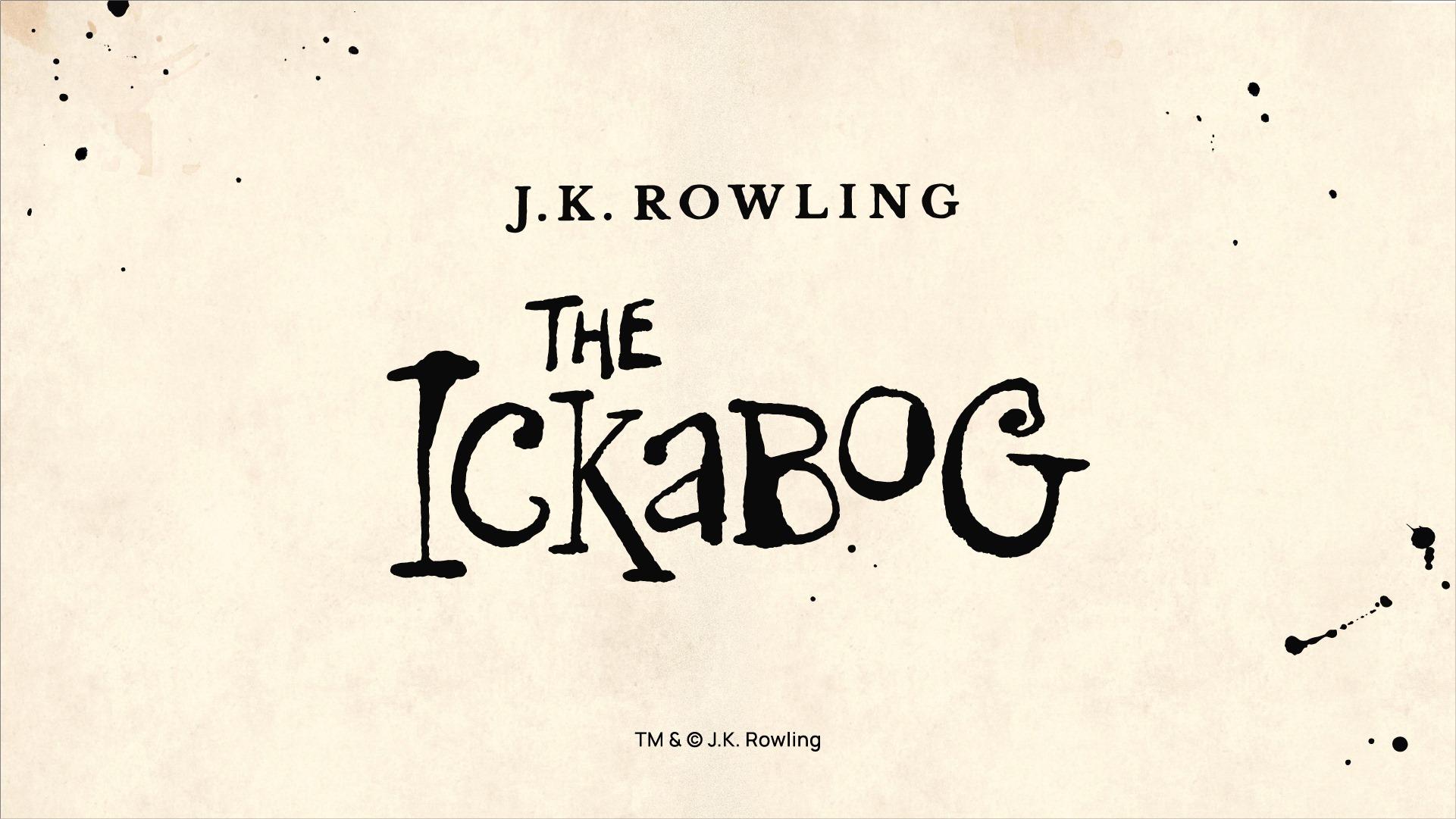 J.K Rowling annonce la publication d'un roman jeunesse: The Ickabog!