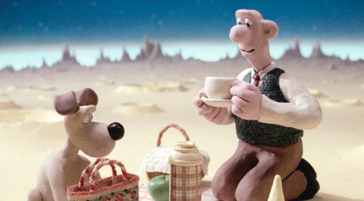 Wallace et Gromit ont marché sur la Lune ... pour y chercher du fromage !