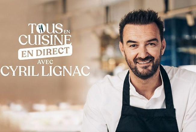 Cyril Lignac publie un livre de recettes suite à l'émission Tous en cuisine