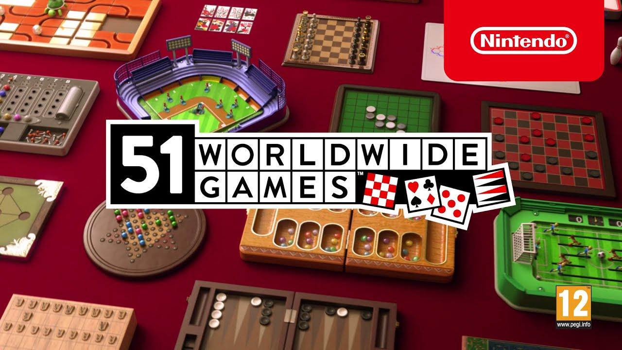 """""""51 Worldwide Games"""" : les jeux du monde entier sur votre Switch !"""