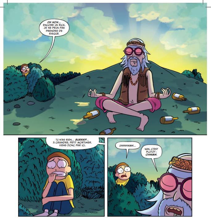 Critique « Rick & Morty, Pocket Morty Soumettez-les tous »