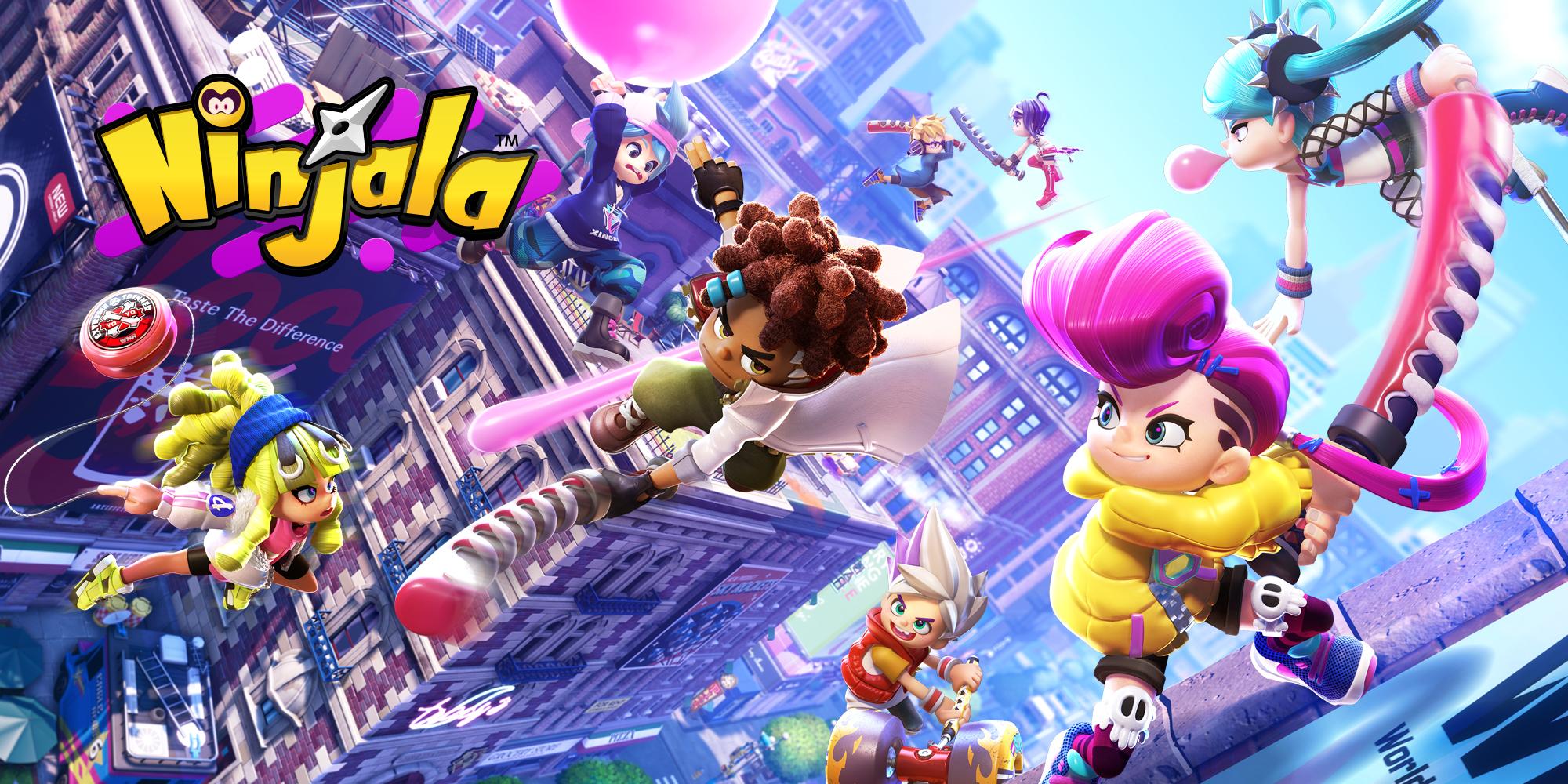 Ninjala : premiers pas entre Fortnite et Splatoon