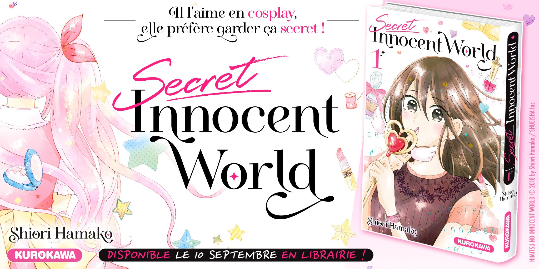 Secret Innocent World, le nouveau Shojo de chez Kurokawa