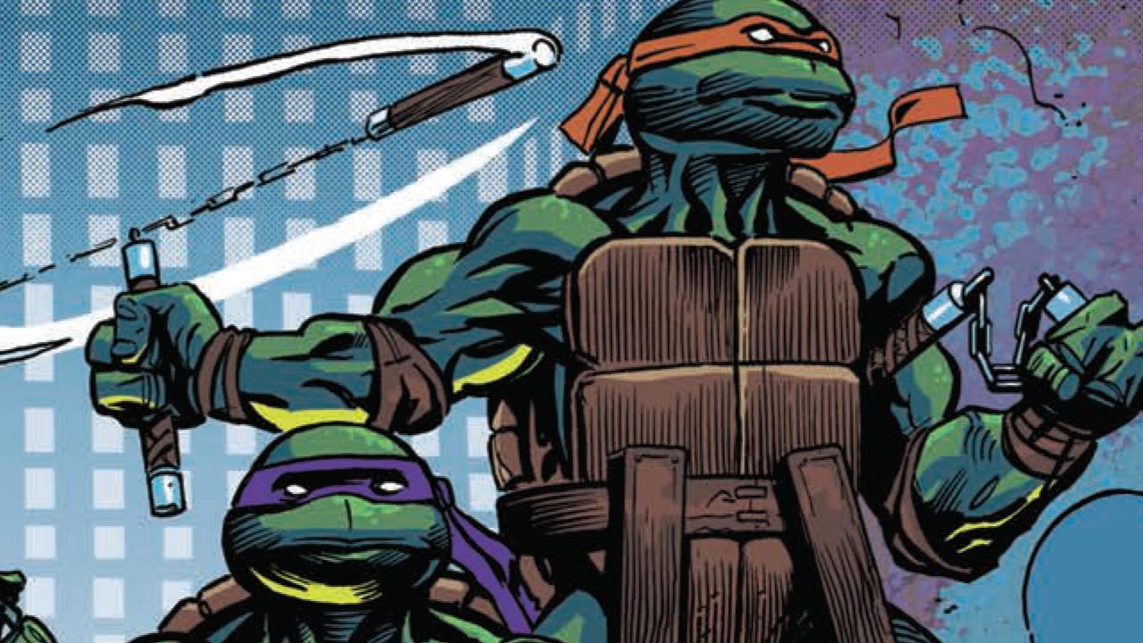 """Les Tortues Ninja"" (tome 10) : de l'ordre et du chaos"