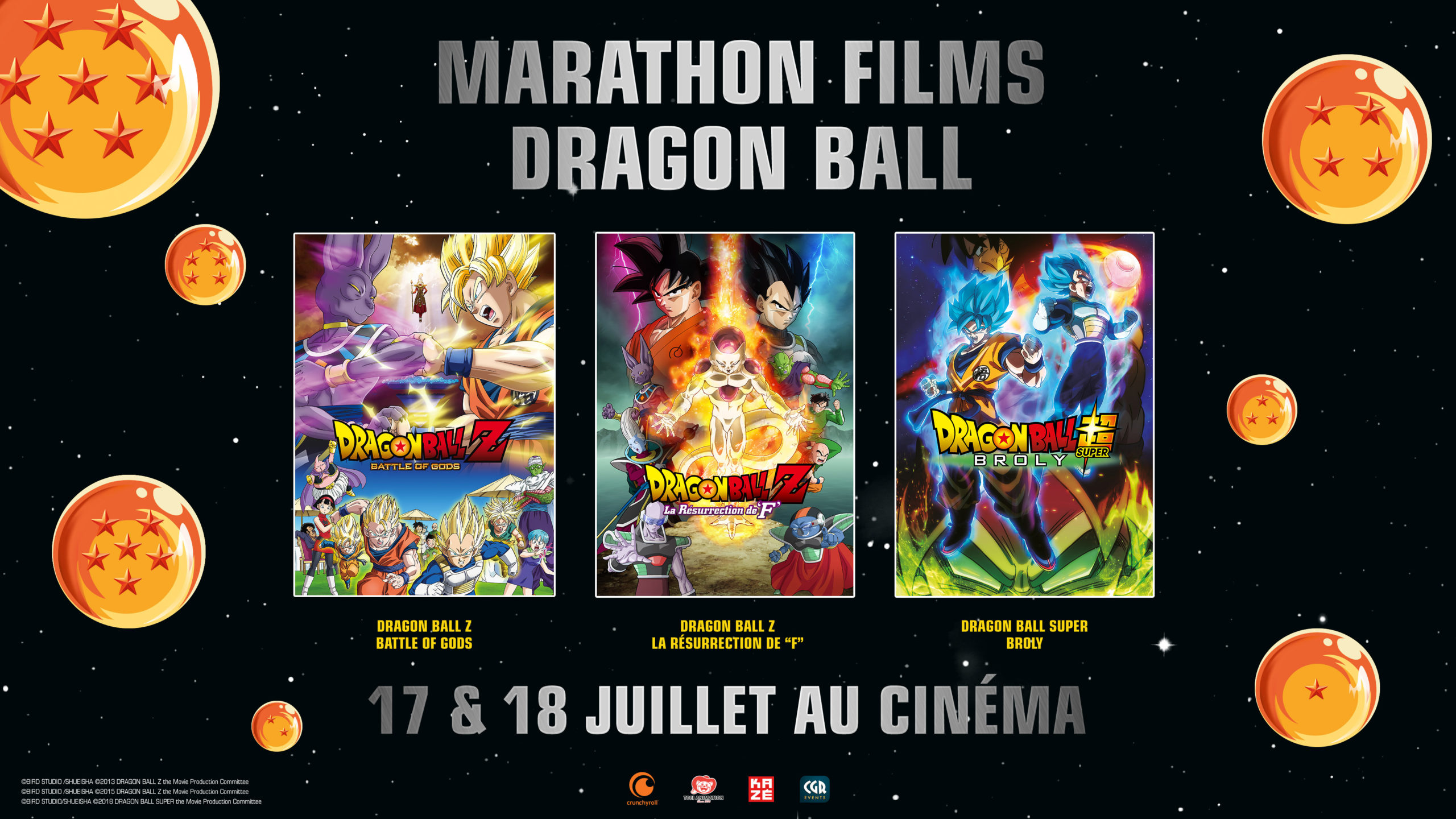 Du 17 au 18 juillet, participez au Marathon Dragon Ball Z !