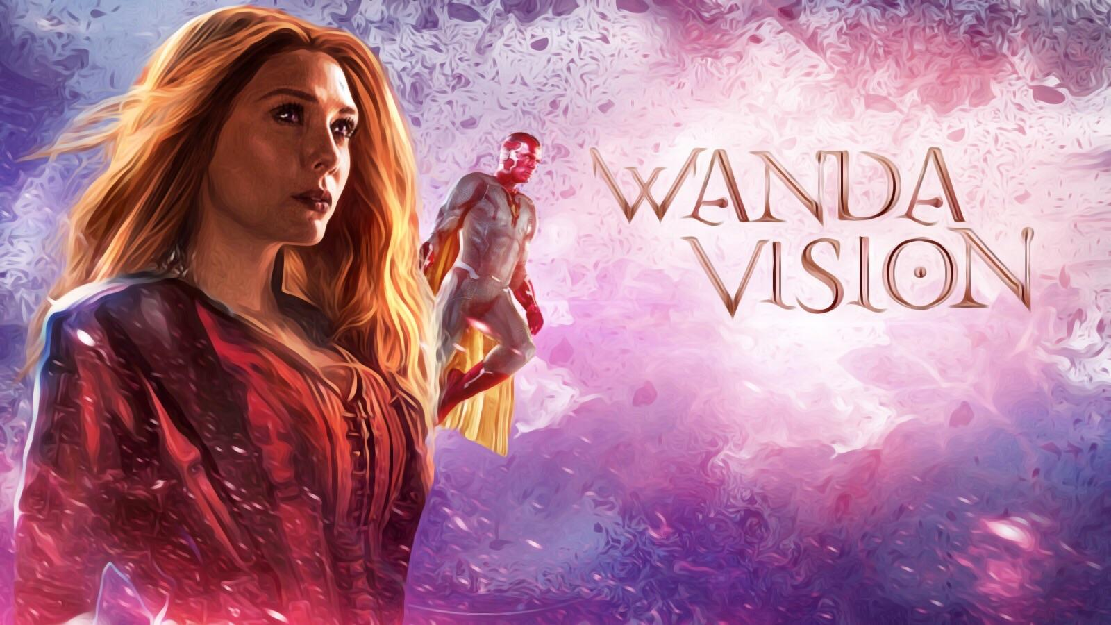 Disney +: La série Marvel Wanda Vision repoussée à 2021 !