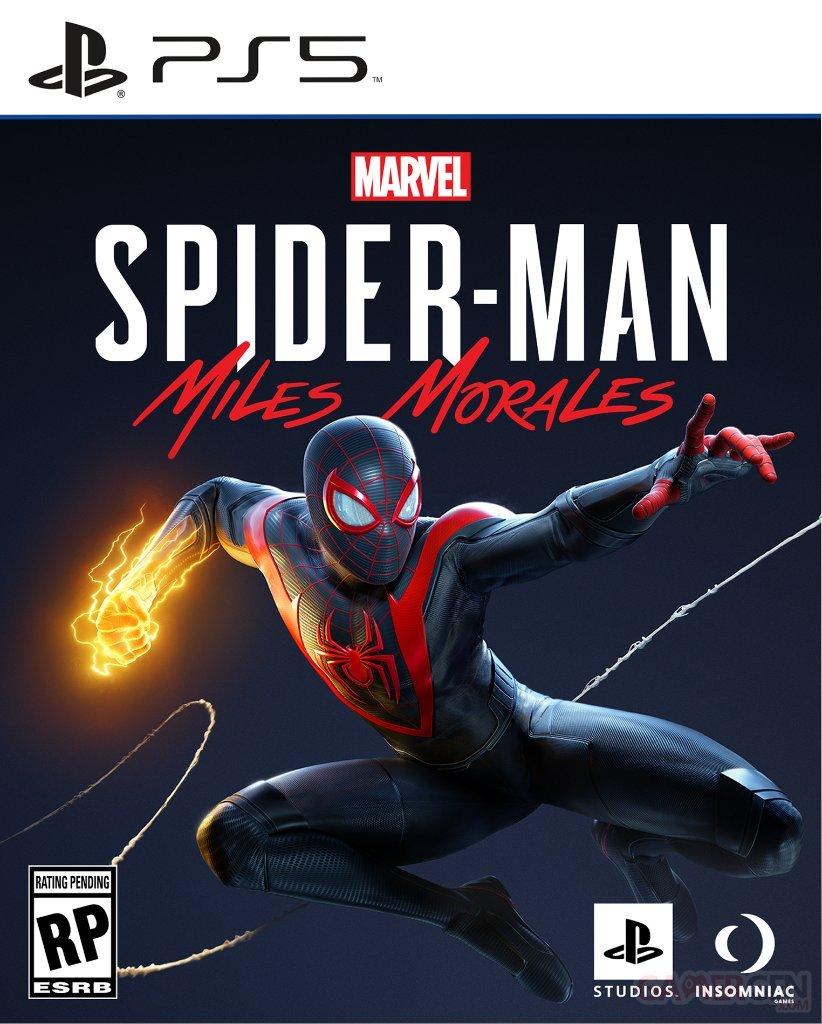 """""""Spider-Man : Miles Morales """" : La Jaquette vient d'être dévoilée !"""